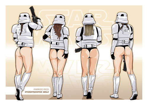 Stormtrooper Girls