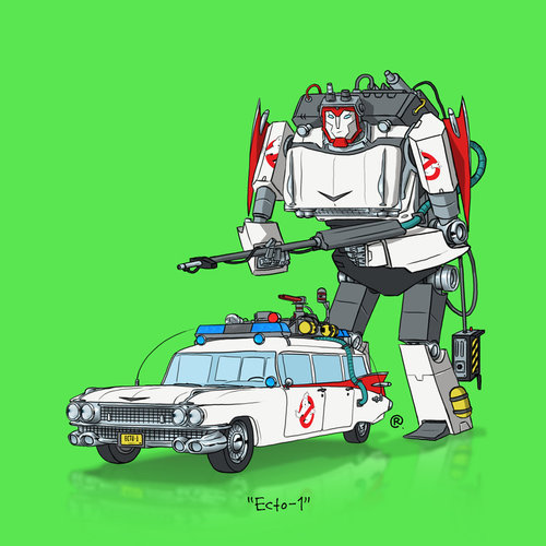 ArtWork : Transformers vs Pop Culture