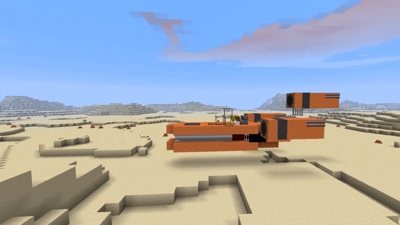 'Star Wars vs MineCraft