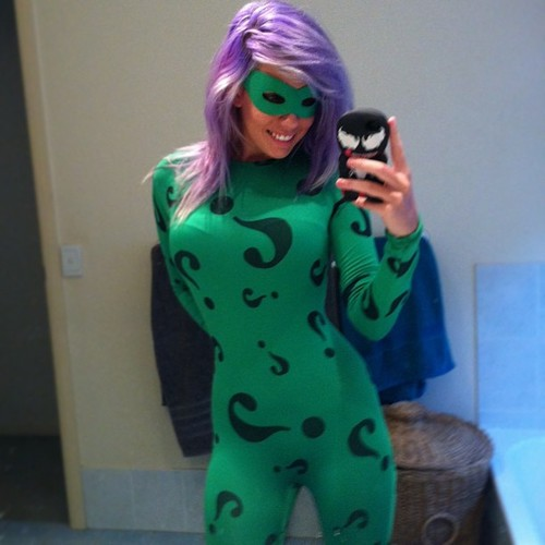 Cosplay : le Riddler de Batman