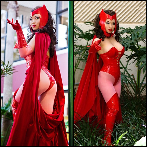 Yaya Han en Sorciere Rouge – Scarlet Witch