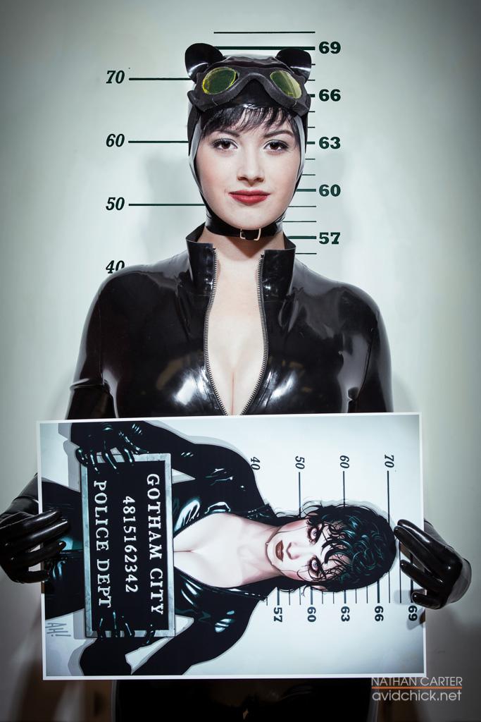 Cosplay : Catwoman se fait tirer le portrait