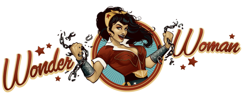 Héroines de DC Comics en Pinups