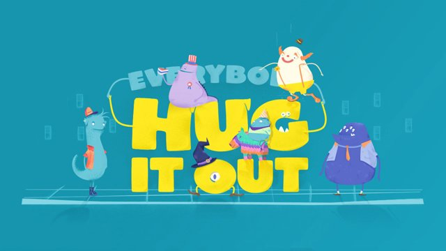 Hug it out, les bienfaits des calins