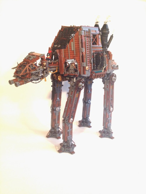 Star Wars et LEGO Steampunk AT-AT