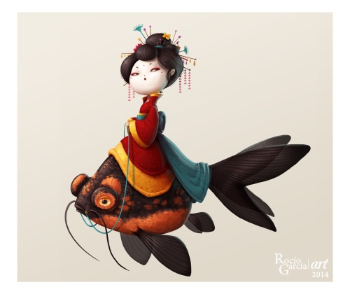 ArtWork : Geisha Fish