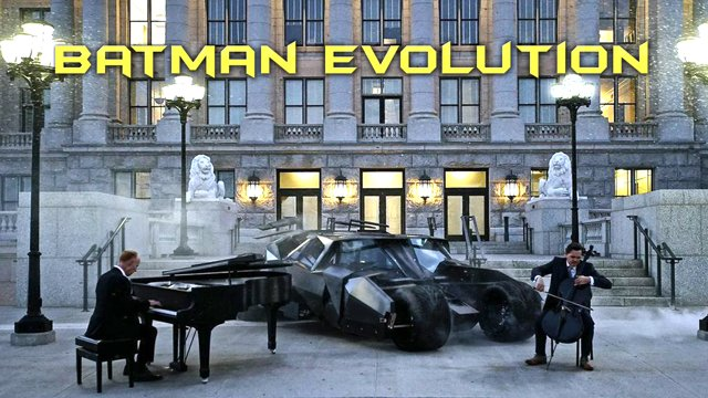 Batman Evolution by ThePianoGuys
