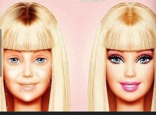 Barbie au naturel