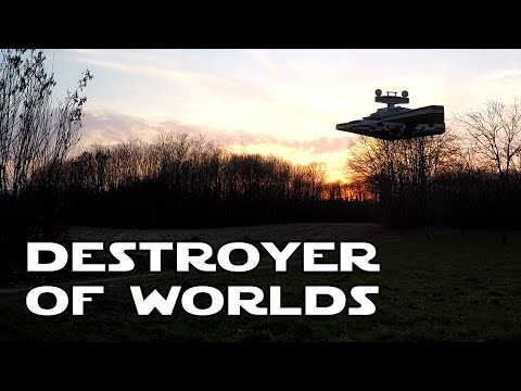 RC Imperial Star Destroyer – Destroyer of worlds – YouTube