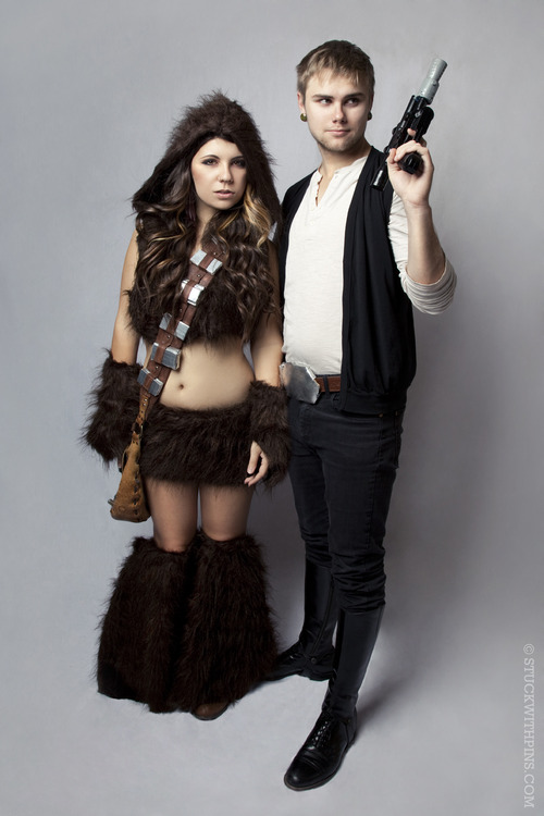 Cosplay : Chewie and Han