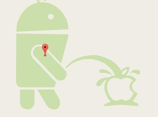 Quand Google se paye Apple