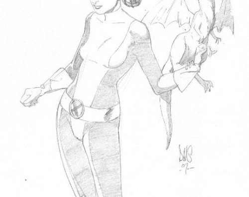 Artwork of the day :Kitty Pryde-Paul Smith