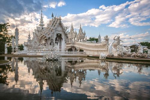 Thailand : le temple blanc
