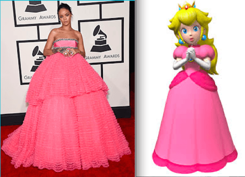 Fashion Police : Rihanna vs Mario Party