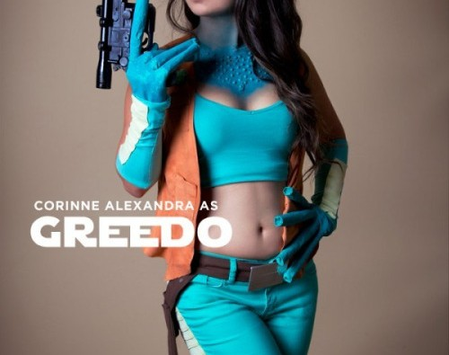 Cosplay : Greedo rule63 – qui tire le premier ?