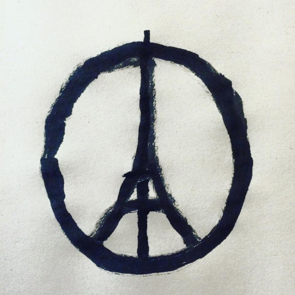 Peace For Paris - Pingouin Grincheux