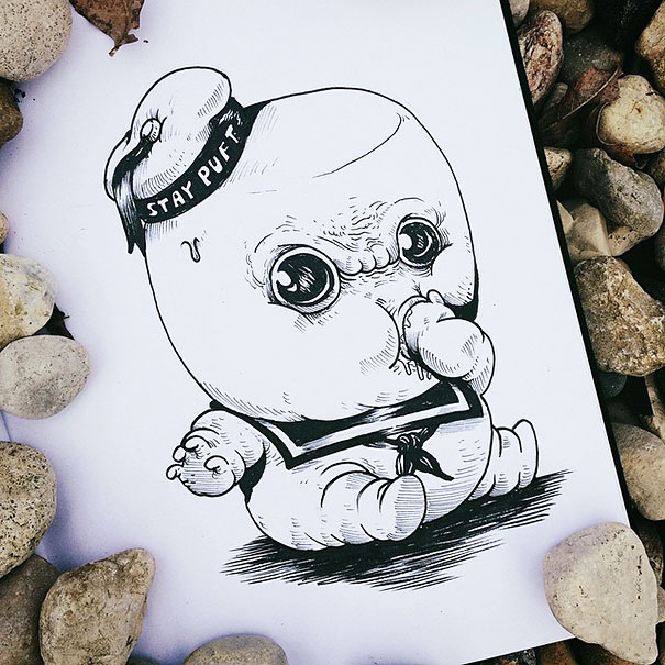 baby-terrors-iconic-horror-monsters-illustrations-alex-solis-20
