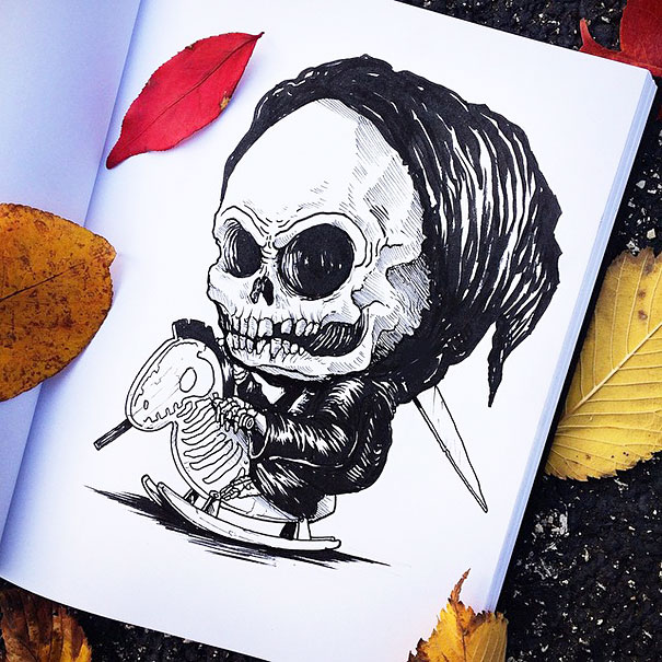 baby-terrors-iconic-horror-monsters-illustrations-alex-solis-25