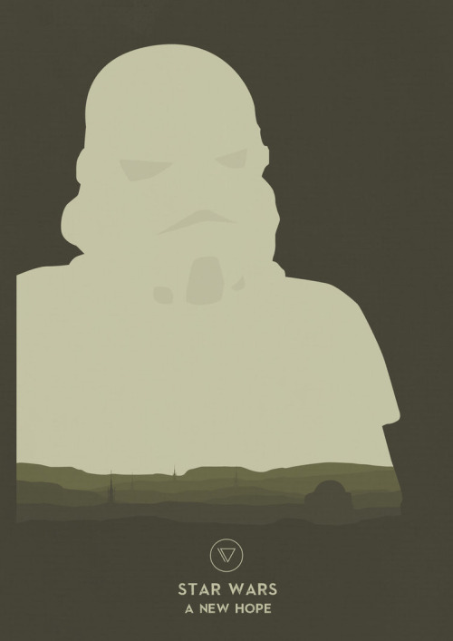 Star Wars Posters  Series by Lewis Dowsett