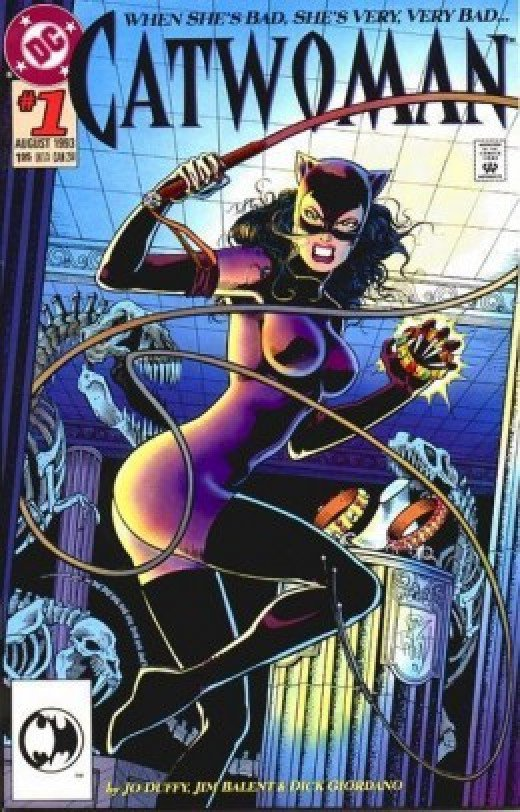 Purple Catwoman Catsuit Costume